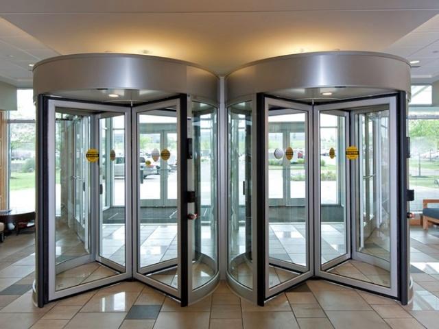 Revolving Automatic Doors