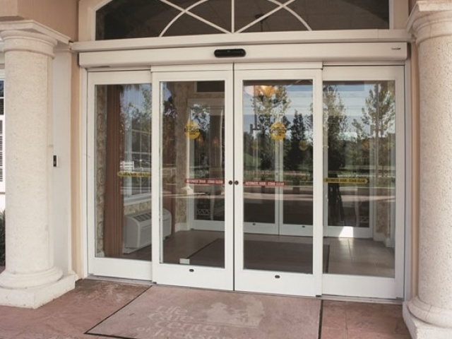 Hurricane Resistant Sliding Automatic Door