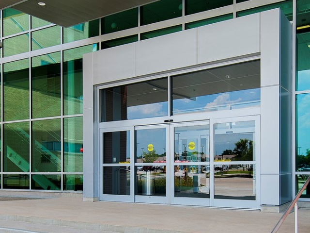 Overhead Concealed Sliding Automatic Door