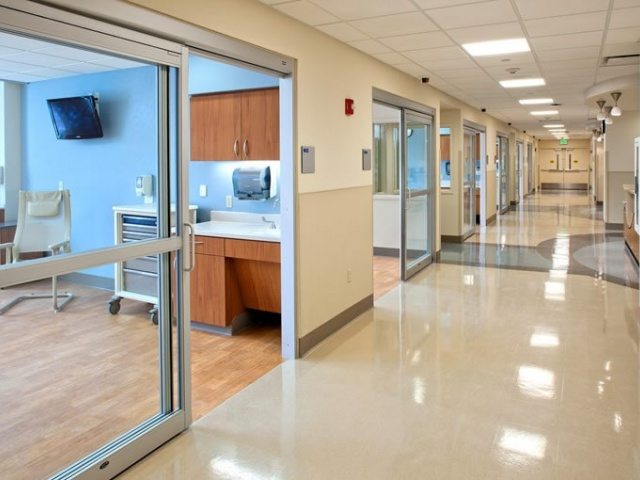 Sliding ICU Automatic Doors