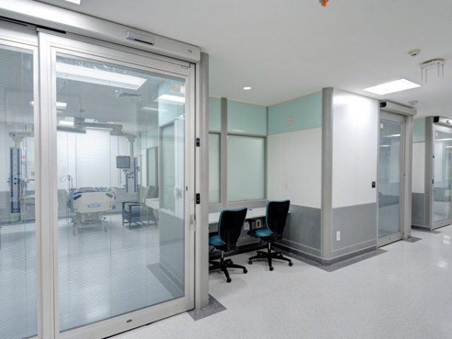 Touchless Sliding ICU Automatic Doors