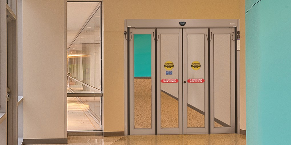 Automatic Commercial Folding Doors